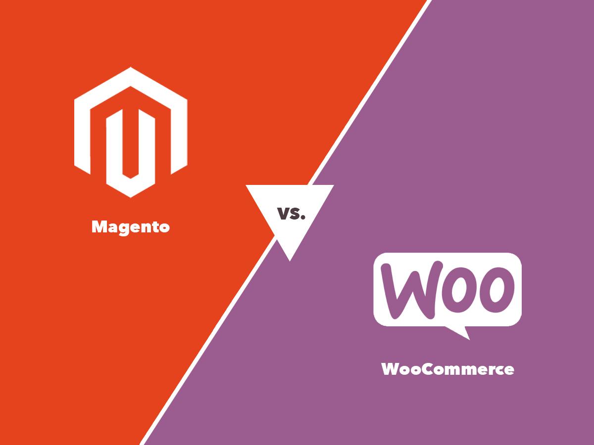 Magento versus WooCommerce - e-commerce platform