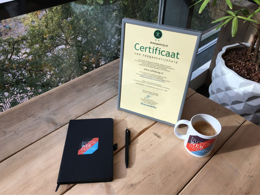 Drempelvrij certificaat Tilburg