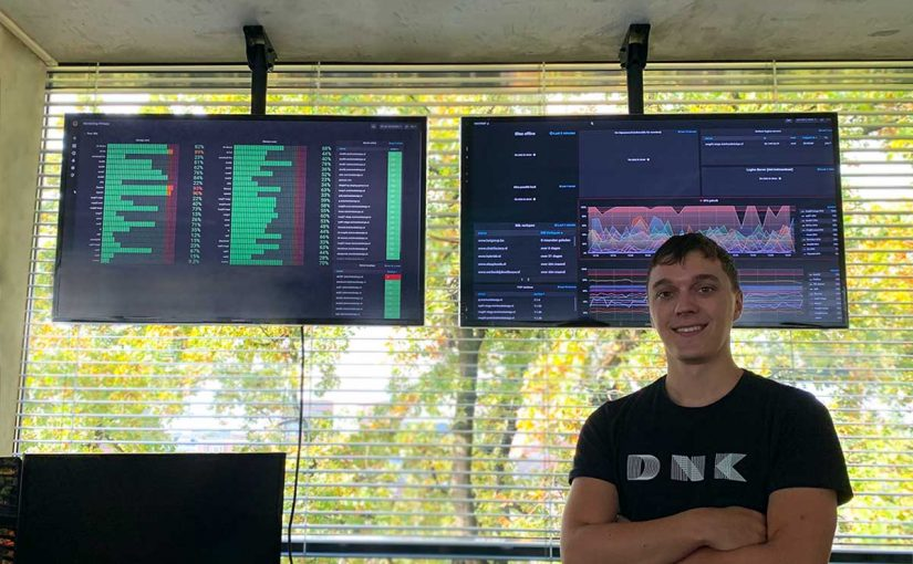Grafana statistieken dashboard