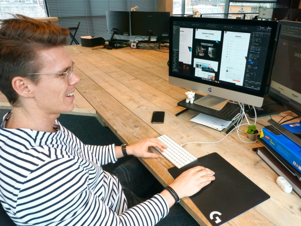 Van klantbehoefte tot ontwerp - webdesigner