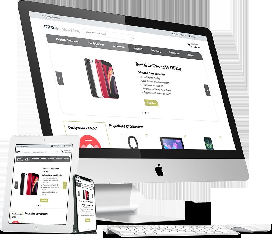 INTO maatwerk magento 2 webshop