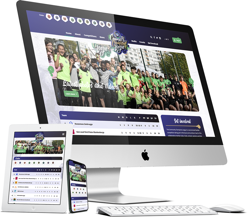 Maatwerk WordPress multisite EFDN Community Champions League Case