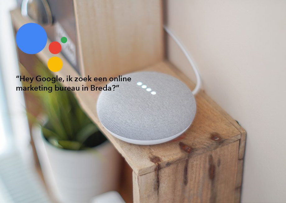 Opkomst voice search in Nederland