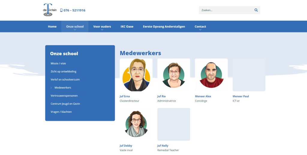 Medewerkers module
